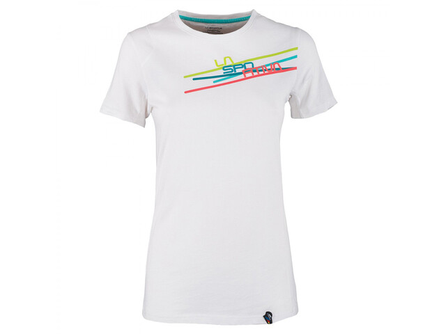La Sportiva W's Stripe 2.0 T-Shirt White